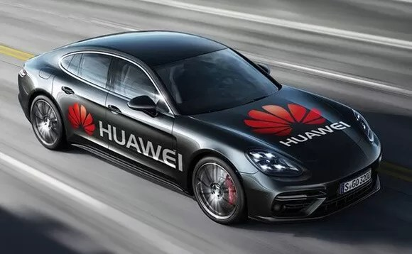 Huawei Mate 10 Pro is powerful enough to drive an Porsche Car