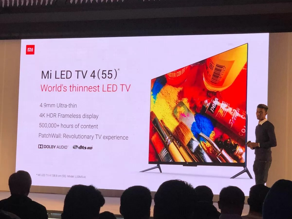 Xiaomi Mi LED Smart TV 4 launched in India for Rs 39,999