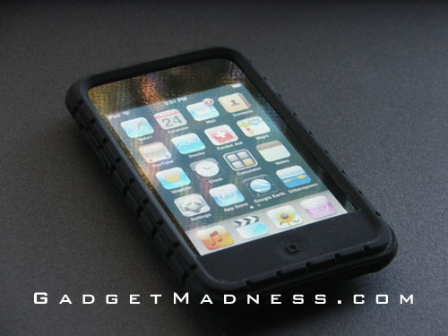 iPod Touch 2G with invisibleSHIELD and Speck PixelSkin Case