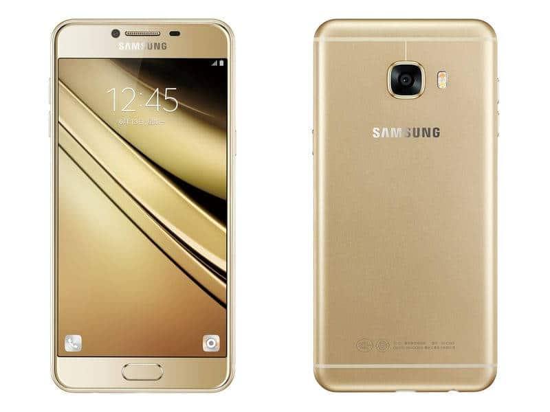 Samsung Galaxy C5 gold