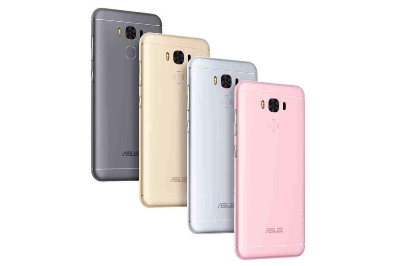 ASUS ZenFone 3 Max 5.5 four colors