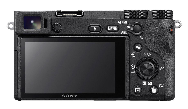 Sony A6500 back