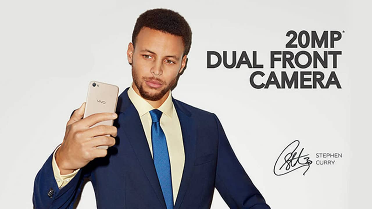 Steph Curry Vivo Brand Ambassador