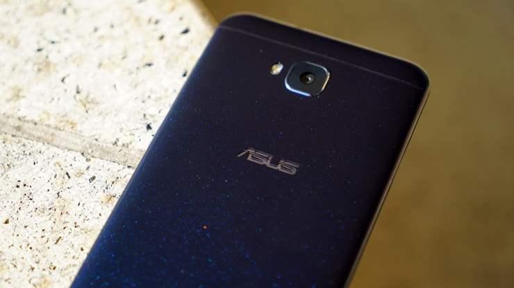 ASUS ZenFone 4 Selfie glittery back