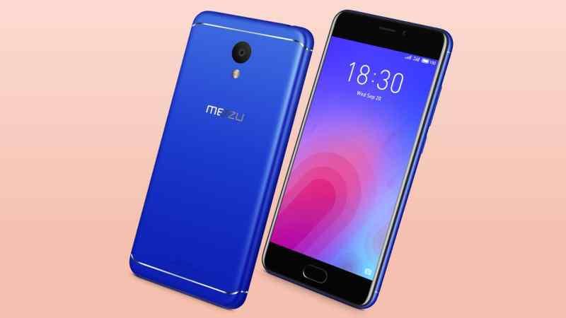 Meizu M6 in blue