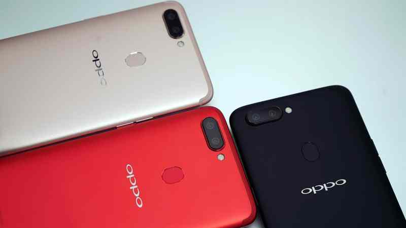 OPPO R11s all three available colors