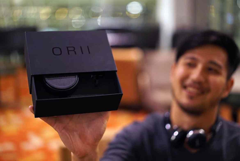 ORII retail packaging
