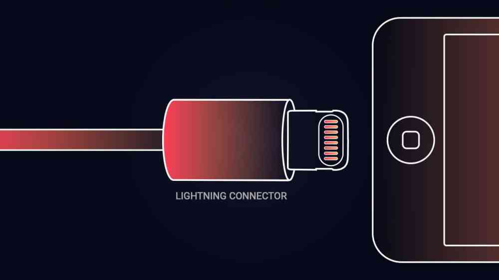 medium resolution of apple already had their proprietary connector with the early iphones but it was only since the introduction of the lightning connector along with the