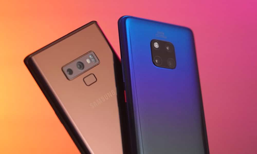 Huawei Mate 20 Pro vs Samsung Galaxy Note 9: Better big phone? - GadgetMatch