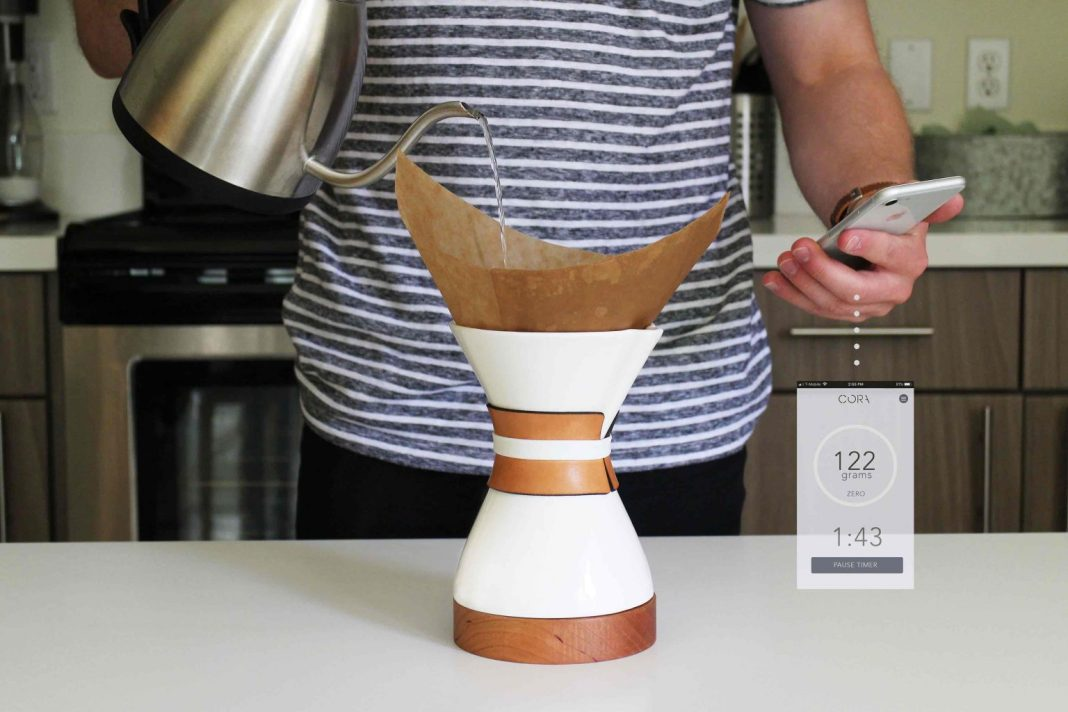Cora Smart Pour Over Coffee Brewer 001