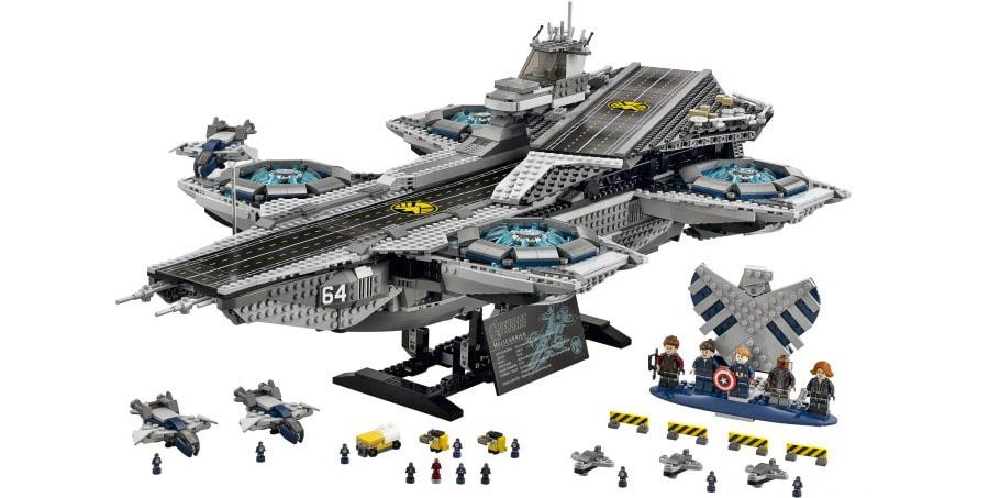 Lego SHIELD Hellicarrier 76042
