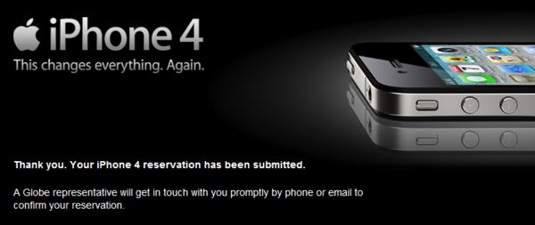 iPhone 4 Officially Reserved