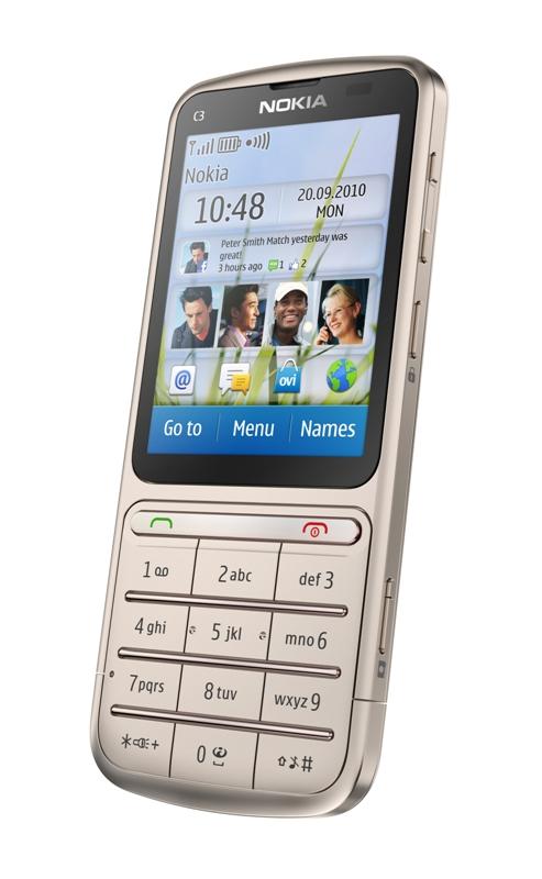 Nokia C3-01 Golden Khaki
