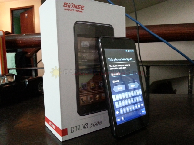 Gionee Ctlr V3