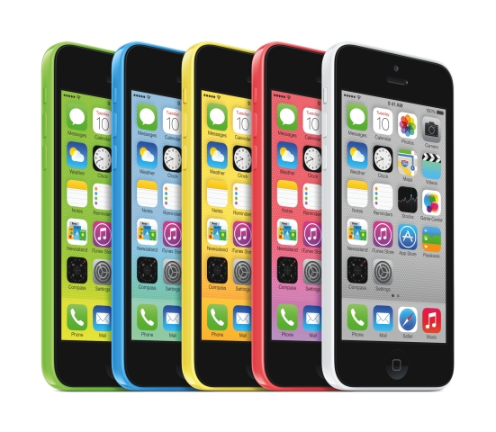 iPhone 5c all colors 0