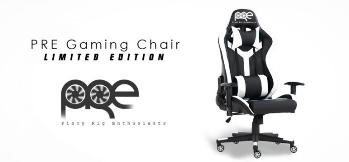 Pinoy Right Enthusiasts, Pinoy Rig Enthusiasts and Glaiiide collaborate to sell limited edition PRE Gaming Chairs, Gadget Pilipinas, Gadget Pilipinas