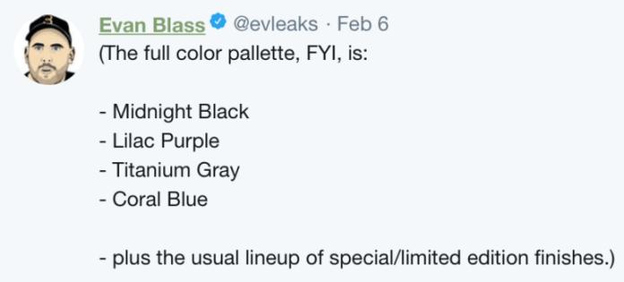 galaxy s9 colors
