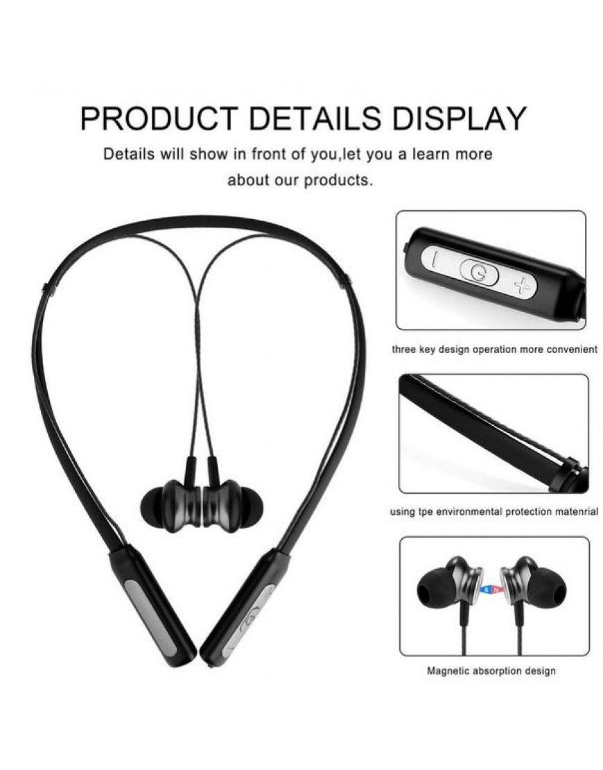 QCY BH1 Bluetooth headphones IPX5 waterproof earbuds