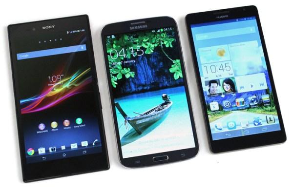 big-screen phones