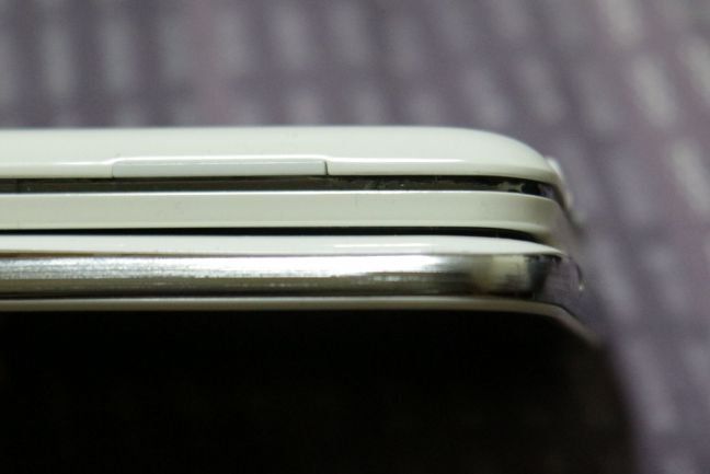 Comparison of the thickness of the iNO 2