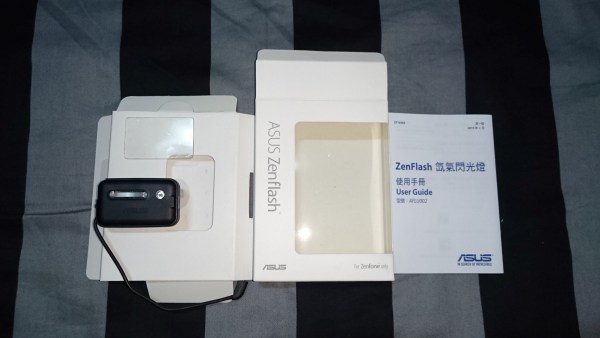 zenflash 2 box contents