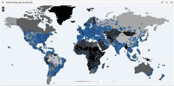 mirai-infection-map