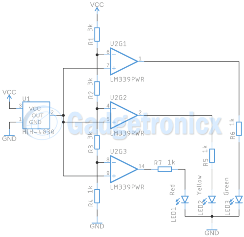 small resolution of humidity indicator circuit