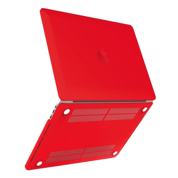 Frosted Case - 13- Apple Macbook Pro Touch Bar 2017 Red