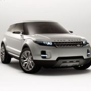 Land Rover LRX On Show At British International Motor Show
