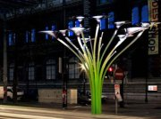 Solar Tree Street Lights