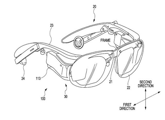 Sony patents Google Glass competitor design