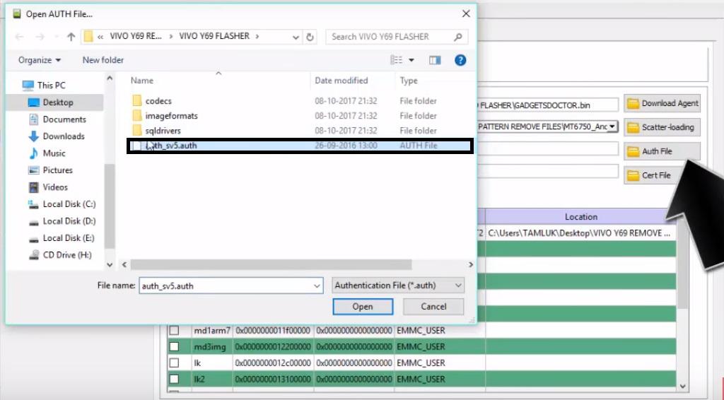 Vivo Y69 Remove Lock Screen (Pattern/Pin)