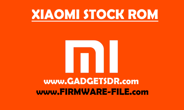 Xiaomi Redmi 5A (MC13B) Stock Firmware Rom (Flash File)