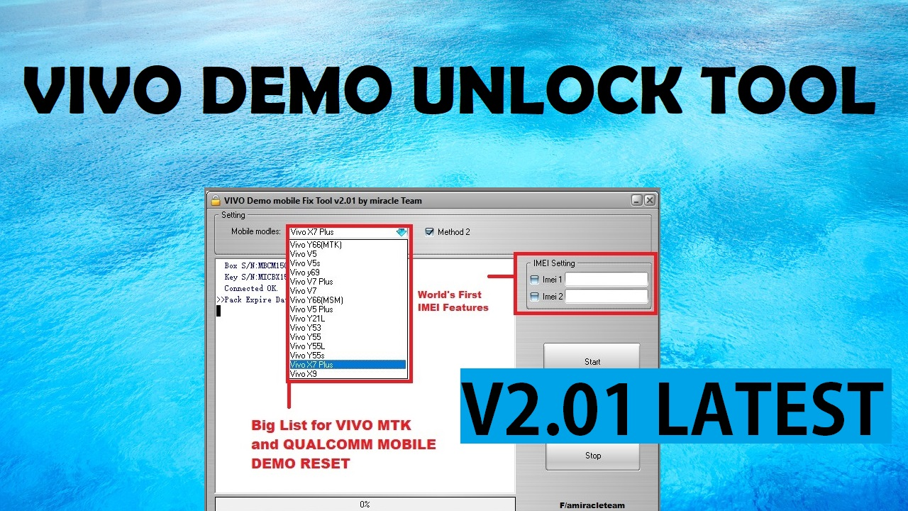 Miracle Box VIVO Demo Fix Tool 2 01 Latest