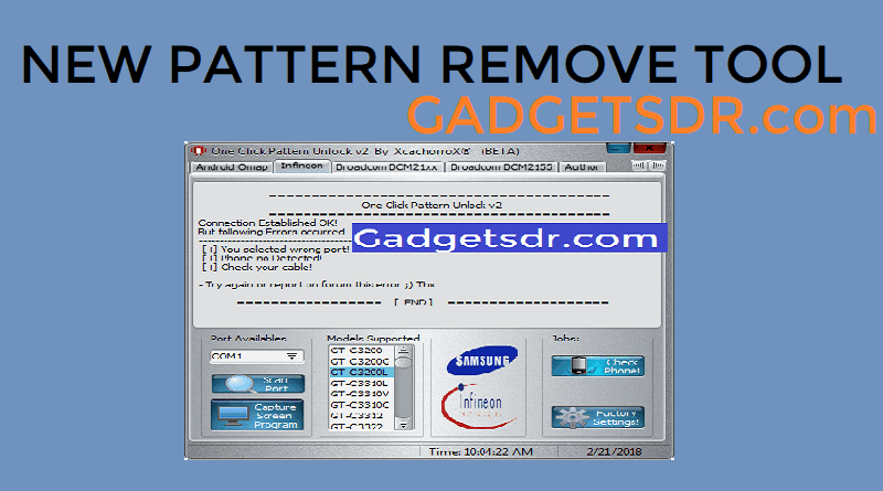 Android Pattern Lock Remover Software Uni Android Tool V6 – HD