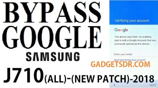 How to Bypass FRP on Samsung J7 J710F -2018