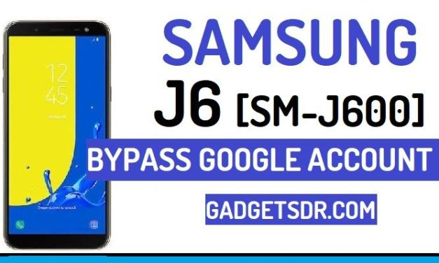 Bypass Google FRP Account Samsung Galaxy J6 (Latest)