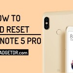 How to Remove Pattern Lock Xiaomi Redmi Note 5 Pro By Hard Reset