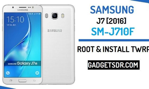 How to Root Samsung SM-J710F and Install TWRP Recovery