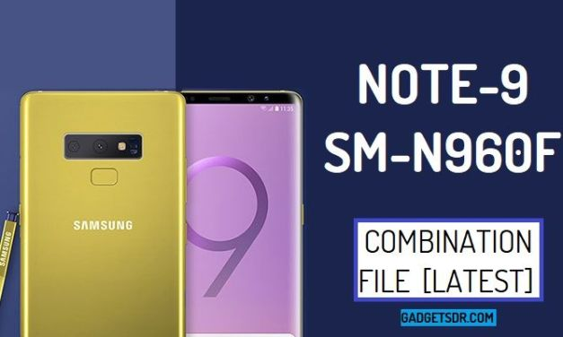 Samsung SM-N960F Combination Firmware Rom File