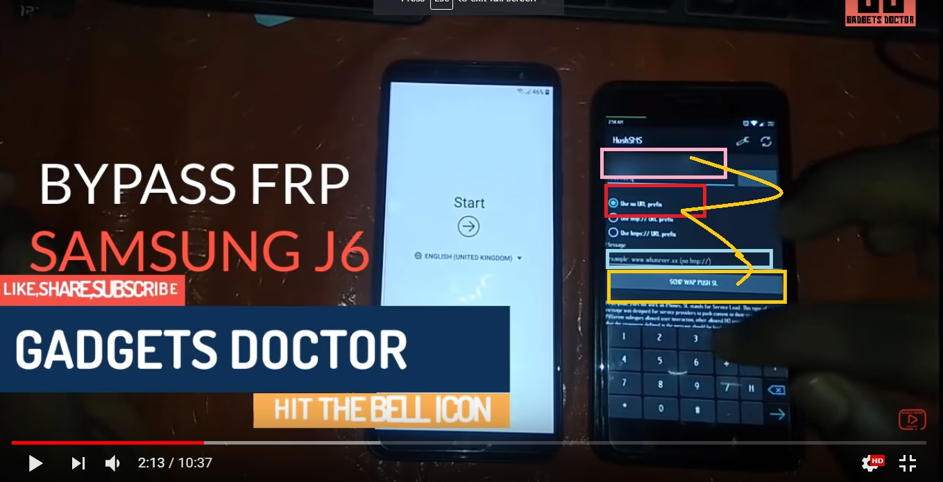 Bypass FRP Google Account Samsung Galaxy J8 Without PC