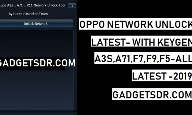 Oppo Network Unlock Tool Latest For Free (With Keygen)