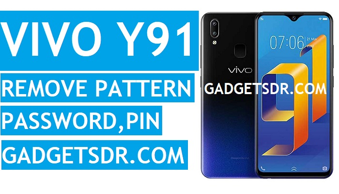 Remove Vivo Y91 Pattern Lock, Password, Pin lock with MRT Tool