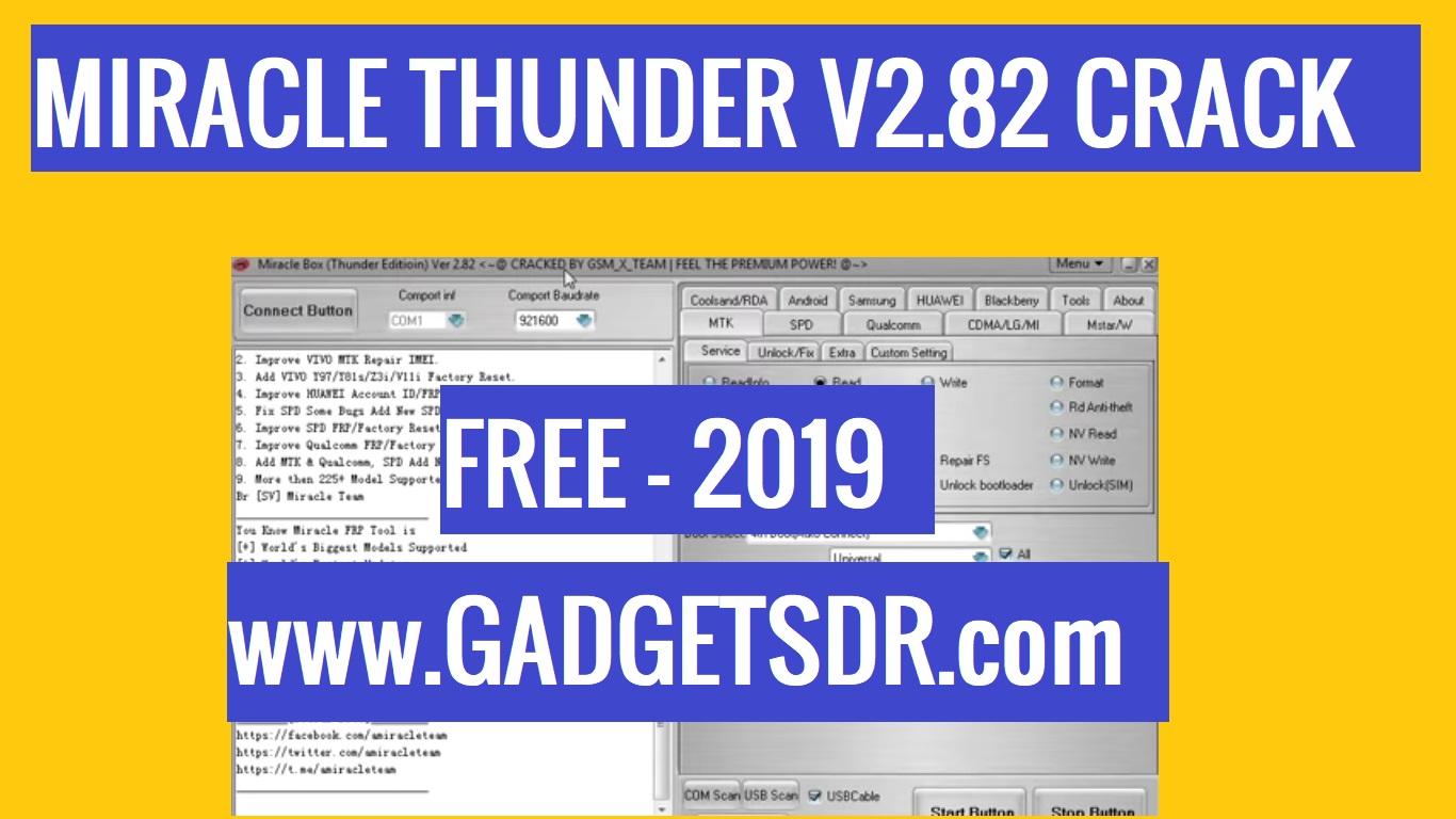 Miracle Thunder 2 82 Crack With Loader / 100% Working