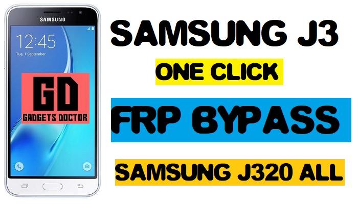 FRP Bypass Samsung SM-J320G (SM-J3220G FRP File) -