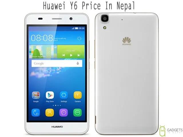 Huawei Y6 price in Nepal