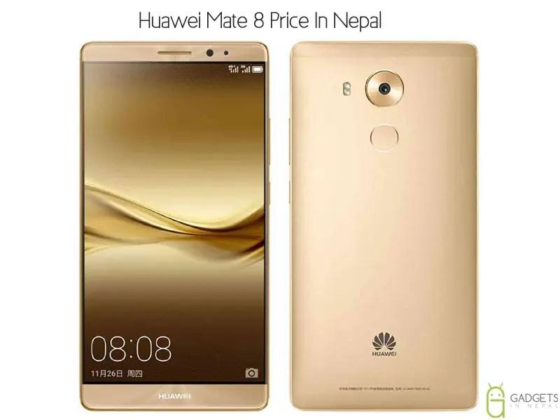 Huawei Mate 8 Price In Nepal
