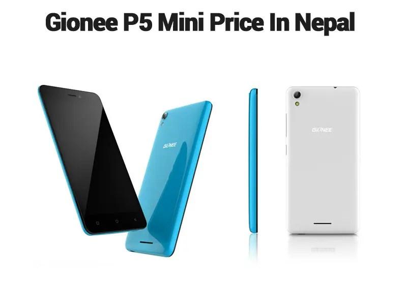 Gionee P5 Mini Price In Nepal