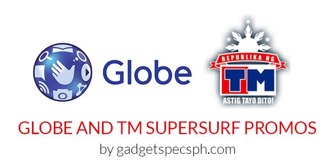Globe and TM SuperSurf Unli Internet Promos – Gadget Specs PH