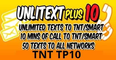 Unli Text Plus 10 – Gadget Specs PH